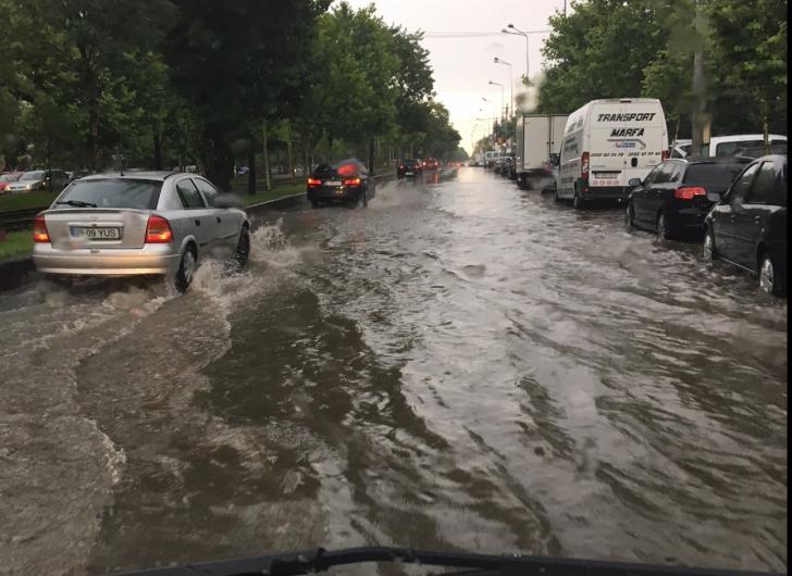 Inundatie Bucuresti