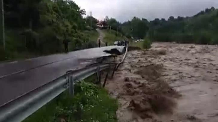 Inundații în zonele montane