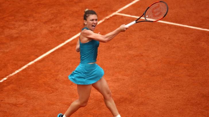 Simona Halep în finala Roland Garros