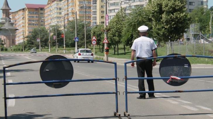 TRAFIC RUTIER restricţionat în Capitală. Unde nu vei putea ajunge cu maşina
