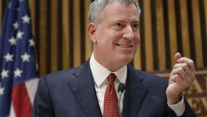 Primarul New York-ului, Bill de Blasio, este acuzat că a traversat ilegal frontiera SUA - Mexic
