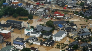Dezastru în Japonia: 141 de morţi în urma intemperiilor