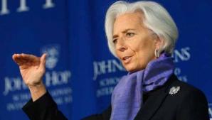 Avionul directoarei FMI Christine Lagarde a aterizat de urgenţă în Argentina