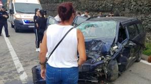 Accident teribil pe Valea Oltului: 8 răniţi, între care un copil de un an / Foto: Ora de Sibiu