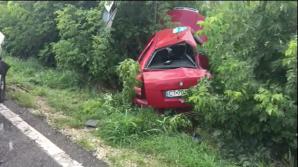 Un bărbat a murit între fiarele contorsionate ale maşinii