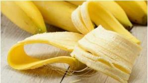 Ce poţi face cu o coajă de banană. Nu le mai arunca