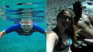 Au pierdut camera GoPro în timpul lunii de miere. A fost găsită pe fundul mării. Descoperire şoc!