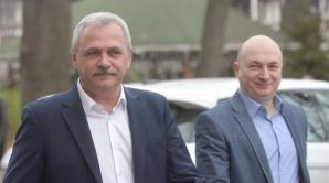Codrin Stefanescu si Liviu Dragnea