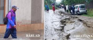 Inundații în Vaslui