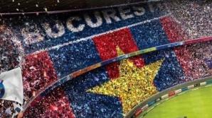 Fenomenul #gurapsd a atins și galeria echipei Steaua