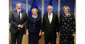 Nou avertisment de la Bruxelles. Ce i-a transmis Jean-Claude Juncker lui Dăncilă / Foto: gov.ro