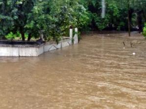 Inundații în Suceava