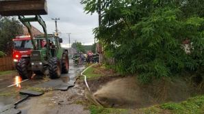 Pagube de peste 5 milioane de lei, în județul Sibiu, din cauza inundațiilor
