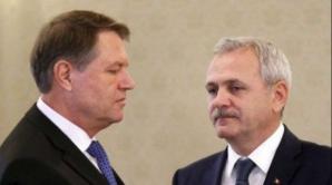 Liviu Dragnea si Klaus Iohannis