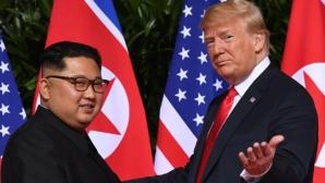 Trump și Kim Jong un