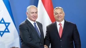 Viktor Orban, în Israel