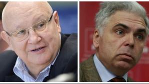 Ioan Mircea Pașcu și Adrian Severin
