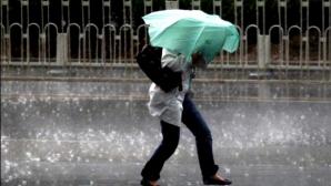 Potop în România. COD GALBEN de vreme severă în mai multe judeţe