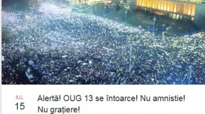 Protest duminica Piata Victoriei