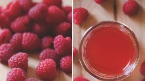 Cum se prepară siropul de zmeură şi ce tratăm cu el