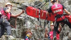 Un turist a murit şi altul a fost rănit, după ce au căzut într-o râpă din Făgăraş