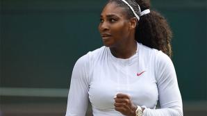 Serena Williams, în finală la Wimbledon.Pentru ea este finala cu numărul 30 în turneele de Mare Şlem