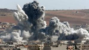 Din nou dezastru. Cel puţin 15 civili ucişi în lovituri aeriene în Siria