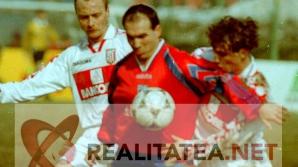 Imagine de arhiva din meciul Steaua - Dinamo 4-2 din 1996