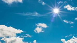 Temperaturile de 30 de grade revin. PROGNOZA PE TREI ZILE