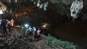 Operaţiunea de salvare a copiilor blocaţi în peştera din Thailanda ar putea începe