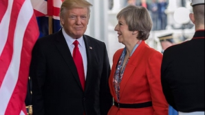 Theresa May și Trump