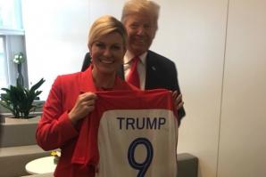 Kolinda face reclamă echipei Croației la summitul NATO