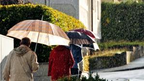 ALERTĂ METEO de fenomene periculoase: cod GALBEN de furtuni şi grindină