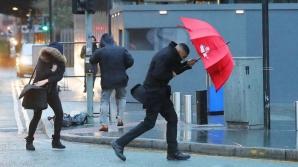 ALERTĂ METEO de vreme severă. Cod GALBEN de vijelii, ploi violente şi grindină - HARTA