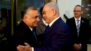 """Premierul Ungariei, primul oaspete în """"statul-naţiune al poporului evreu"""" - Israel"""