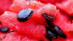 Ce se întâmplă, de fapt, dacă mănânci pepenele cu tot cu sâmburi. Mare ATENŢIE!