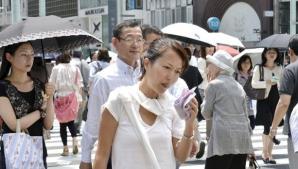 Caniculă în Japonia: 30 de oameni au murit