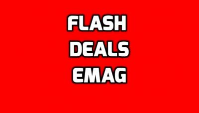 eMAG Flash Deals - Promotii rapide, la ceas de aseara