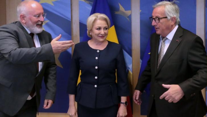 Viorica Dăncilă: Oficialii europeni nu mi s-au părut îngrijorați