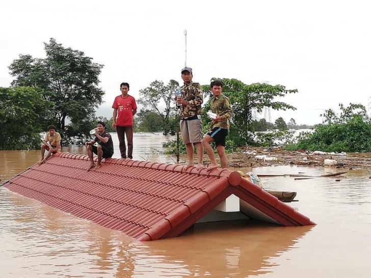 Tragedie în Laos după prăbușirea unui baraj