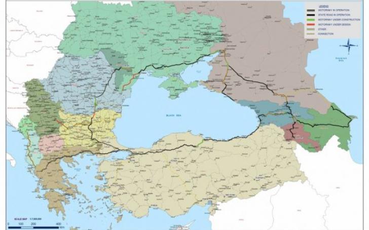Cum va arăta marea autostradă în jurul Mării Negre. Rusia spune că a început lucrările
