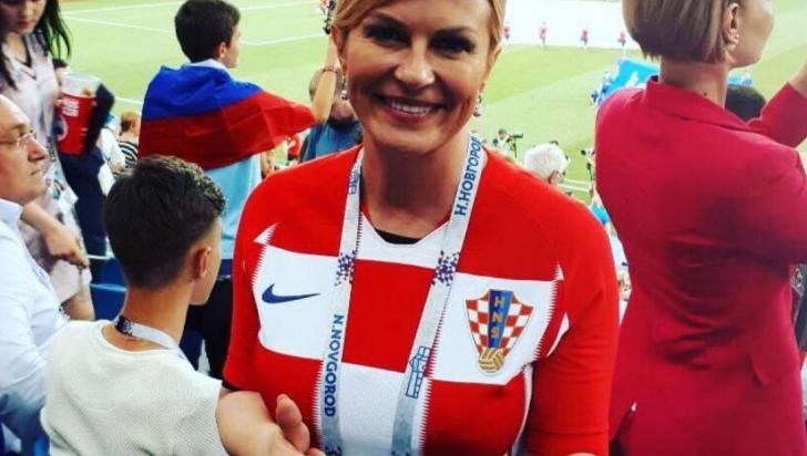 Bucurie nebună! Viral: cum a fost surprinsă președinta Croației după victoria la Cupa Mondială