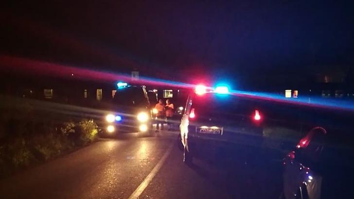 Barbat lovit de tren în Covasna