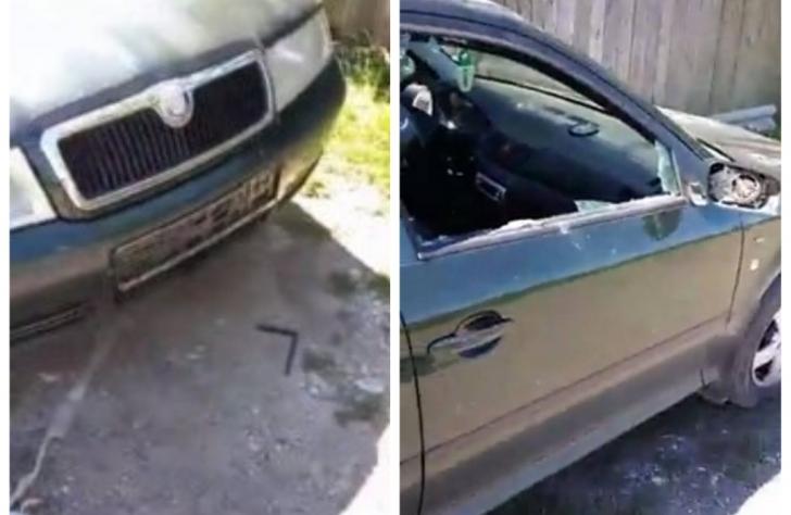 Mașina unui consilier local PNL a fost vandalizată