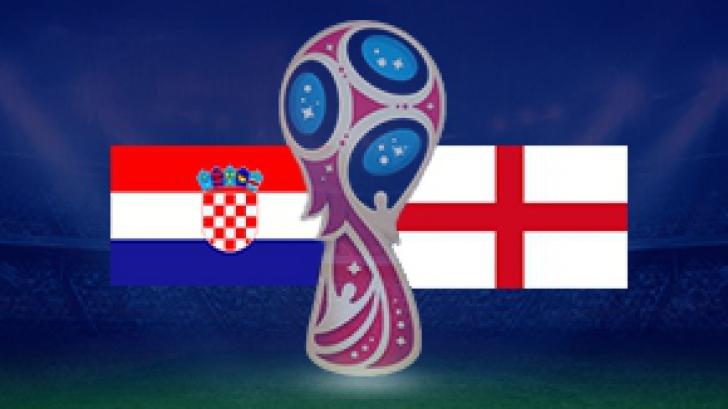Croatia Anglia Campionatul mondial de fotbal 2018