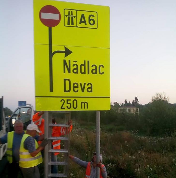 S-a închis o bucată de autostradă din vestul ţării