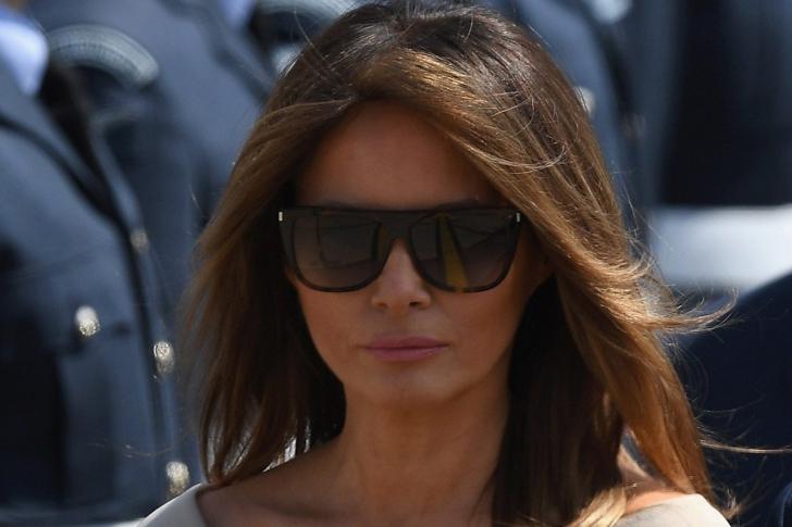 Melania Trump, îmrăcată elegant