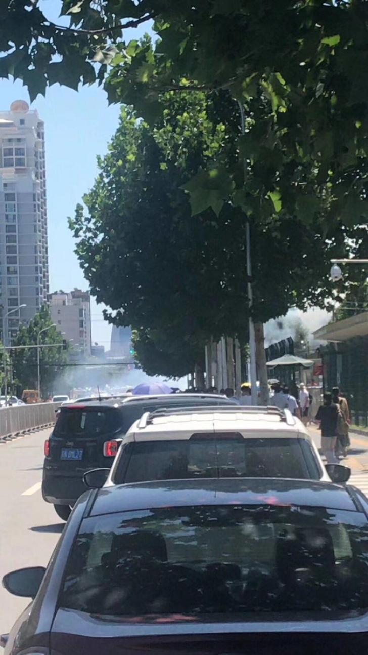 O bomba artizanala a fost detonata in fata ambasadei SUA la Beijing