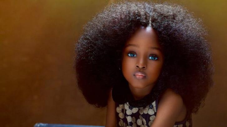 Cea mai frumoasă fetiță din lume are doar 5 ani și a cucerit deja Internetul