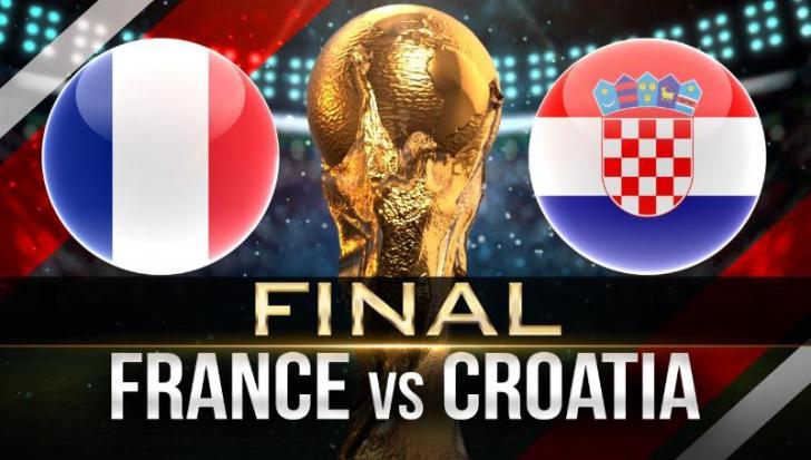 CM 2018. Cine va arbitra finala Franţa - Croaţia